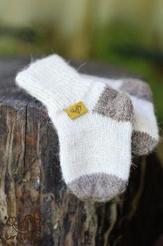 Newborn baby socks baby socks wool socks gift for by CiruViru