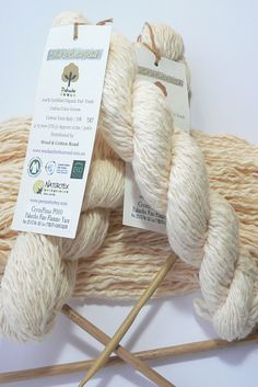 Organic Cotton Yarn, Thick And Thin, Cotton Thread, Weaving, Place Card Holders, Colours, Texture, Wool, Knitting