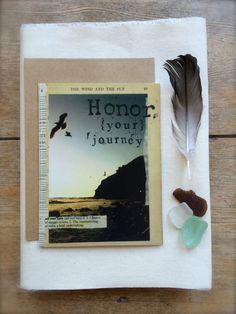 "Inspirational Greeting Card.  ""Honor Your Journey."" Mixed Media Design. Orginal Art. Digitally Printed. 5 x 7 Size. $6.00, via Etsy, By Nichole Ray Design #Fargo #handmade"