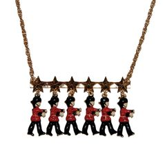 THE MARCHING BRITISH GRENADIERS NECKLACE - THE DISTINGUISHED