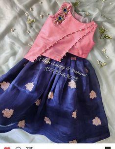 Pretty Dresses For Kids, Indian Dresses For Kids, Skirts For Kids, Baby Lehenga, Kids Lehenga, Kids Dress Wear, Kids Gown, Baby Frocks Designs, Kids Frocks Design