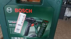 Je mets en location ce perforateur de la marque Bosch presque neuf utilisé…