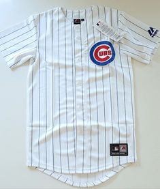 reputable site 26cd8 267d9 MAJESTIC CHICAGO CUBS AUTHENTIC MLB Official Baseball Jersey Shirt Men s XS   Majestic  Baseball  Jerseys  Official  Authentic  Fashion  Mens   Streetwear ...