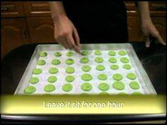How to make Green Tea Macaroons