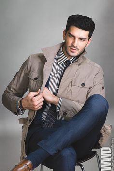 "womensweardaily: "" Men's Wear Maintains Momentum Brunello Cucinelli's cotton jacket, Rag & Bone's linen suit and Ermenegildo Zegna's cotton shirt. Rag & Bone tie; To Boot New York shoes. """