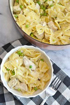 Creamy Lemon and Chicken Pasta - Love & Food ForEva