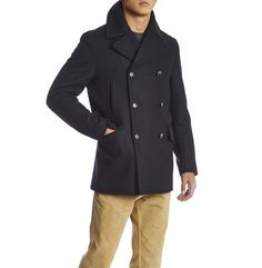b417bd9b637 Discover the Manchester Wool Peacoat with free UK express delivery.