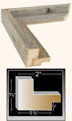 custom barnwood frame