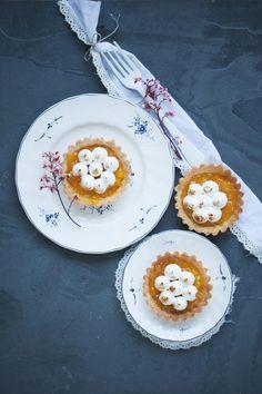 Zitronen Baiser Tartelettes