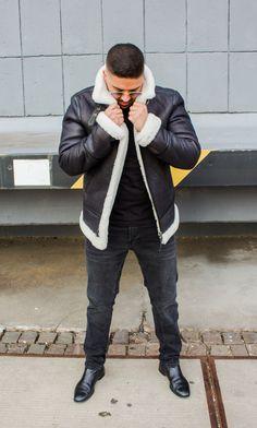 Lolus Blackraw Lammfelljacke Shearling Jacket | Jacken