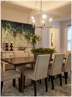 Elegant dining room with coffered ceilings | Coffered Ceilings 101 #BuyersBootcamp