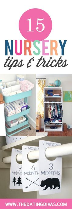 Nursery hacks that will save you in those first few months!