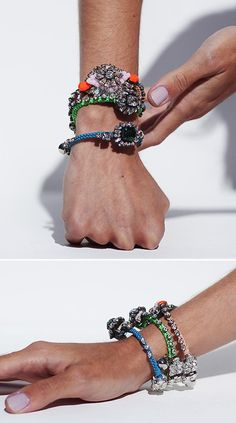 jewels I'm going to try to make these! Cool!