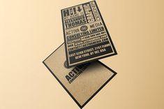 Kraft Paper Business Cards Bundle by Marvel on @creativemarket