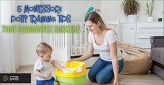 5 Montessori Potty Training Tips That Guarantee Success