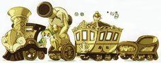 Golden Train from Spirit Tracks