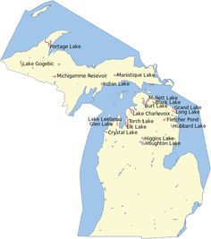 Michigan Map With Cities And Lakes.Map Of Eastern Upper Peninsula Of Michigan Trips Pinterest