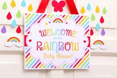 ••• Rainbow Baby Shower Party Theme ••• Shop Them Here: https://www.etsy.com/shop/LeeLaaLoo/search?search_query=s14&order=date_desc&view_type=gallery&ref=shop_search ♥♥♥ Vendor Credits: ♥ Party Styling: LeeLaaLoo - www.leelaaloo.com ♥ Party Printable Design & Decoration: LeeLaaLoo - www.etsy.com/shop/leelaaloo Our YouTube channel for some DIY tutorials here: http://www.youtube.com/leelaaloopartyideas