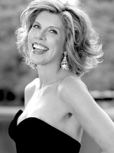 Christine Baranski~confident~beautiful~can make you laugh and make you think, who can sing and dance~she does it all.