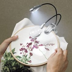Vusion Light and Magnifier - Cross Stitch, Needlepoint, Embroidery Kits – Tools and Supplies