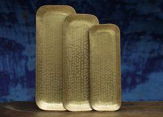 Kadova Brass Tray
