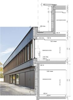 Fassadenschnitt, © Format Architektu