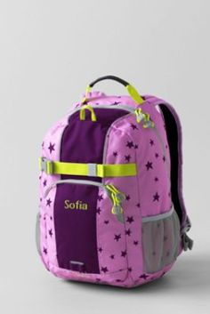 School Uniform Star ClassMate® Small Backpack from Lands' End
