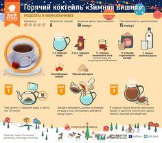 Как приготовить горячий коктейль «Зимняя вишня»   Стол   Новый год   Аргументы и Факты