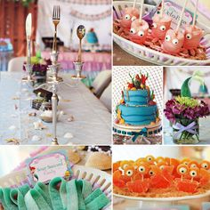 Little Mermaid party perfection
