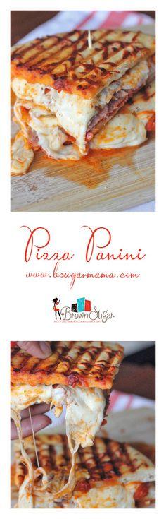 Pizza Panini Sandwich