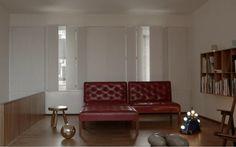 Furniture and environmental designer Michael Anastassiades' London apartment.