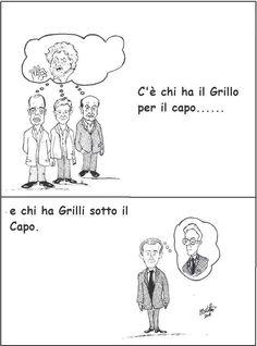 """""""Impiegato per hobby"""" di Enrico Martelloni - Grillo & Grilli"""