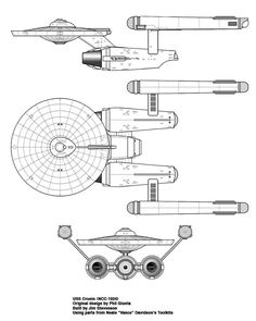 Intrepid-Class Starship USS Voyager NCC-74656 Cut-Away