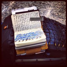 . Uk Trip, Writers Notebook, Travel Journals, Passport, Planners, Journaling, Pocket, Writing, Learning