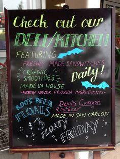 Our Deli is Open!