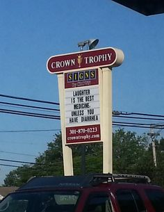 funny-sign-laughter-medicine-Crown-Trophy ... http://fb.me/humorwithin