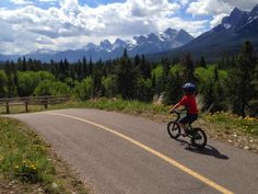 Biking the Rocky Mountain Legacy Trail - WITH KIDS / Family Adventures in the Canadian Rockies