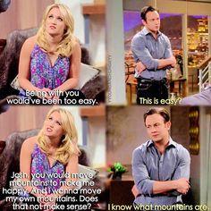 "#YoungAndHungry 2x11 ""Young & How Gabi Got Her Job Back"" - Gabi and Josh"