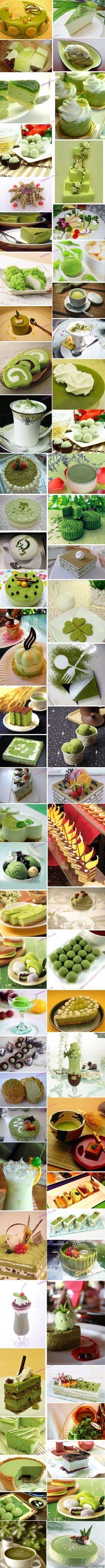 Kulinarisches Grün 抹茶控