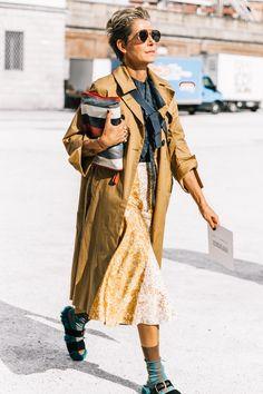 Street Style #MFW / Día 3 Foto: © Diego Anciano / @collagevintage2