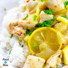 Syn free lemon chicken slimming world. Dinner Recipes For Kids, Healthy Dinner Recipes, Kids Meals, Diet Recipes, Chicken Recipes, Healthy Food, Recipies, Lemon Chicken, Asian Chicken