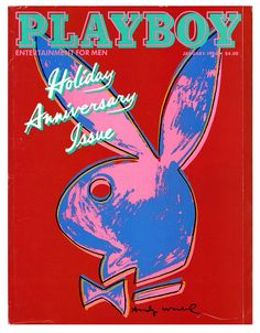 January 1986    Copyright Andy Warhol and Playboy.