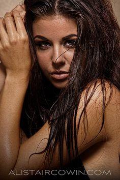 Beauty image taken for model's Portfolio.  Makeup and Hair: Sammy Carpenter