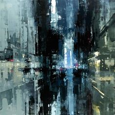 "archatlas: "" Jeremy Mann This photoset includes a series of new Cityscapes by the amazing Jeremy Mann. We have previously featured his series Compositions and Cityscapes. """