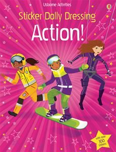 GIRL POWER! Sticker Dolly Dressing Action! - From private investigators & fire fighters, to movie stars & stunt artists, this action-packed book is packed with dolls to dress with over 300 stickers. With extra accessories to add including helmets, harnesses, tool kits & special technology.