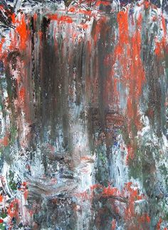 Oleg Frolov. Untitled OF-A657. Abstract Painting. Oil, paper. Year: 2013. Width  61 cm. Height  83 cm. Find my artworks on PicassoMio. http://www.picassomio.com/oleg-frolov/exhibition.html