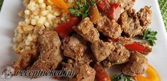 bacskaicsirkemaj Hungarian Cuisine, Grains, Rice, Beef, Dishes, Food, Google, Liver Recipes, Meat