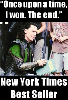 I need it! 8 words but so powerfull! Awwww, Loki...