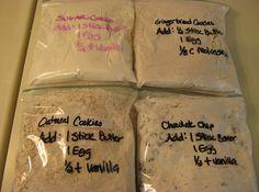 Homemade Cookie Mixes Like Betty Crocker