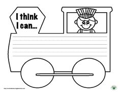 Mrs. Lirette's Learning Detectives: Writing Prompt Freebie (The Little Engine That Could)